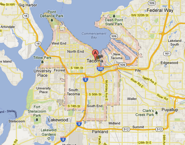 Plumbing Service area in Tacoma WA - All Purpose Plumbing