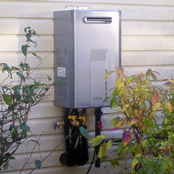 Tankless Water Heater Install Tacoma WA